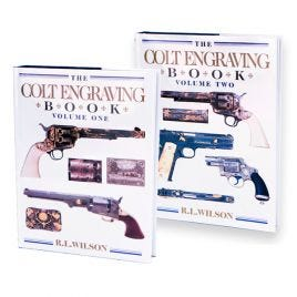 COLT ENGRAVING BOOK SET VOLUMES 1 AND 2 HARDBOUND