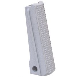 1911 MAINSPRING HOUSING FLAT CHECKERED STAINLESS