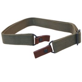AK/SKS CHINESE GREEN CLOTH/LEATHER FACTORY SLING