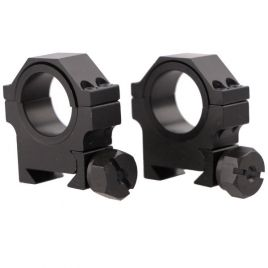 "TARGET SPORTS 1""/30MM MED. TAC. HVY DUTY RING SET"