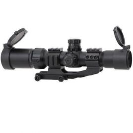 TARGET SPORTS 1.5X4X30 30MM TACTICAL SCOPE W/MNT