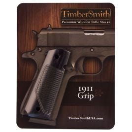 1911 GRIP TIMBERSMITH THE SHIELD BLACK LAMINATE