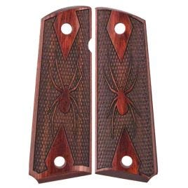 1911 GRIP ROSEWOOD LAM DOUBLE DIAMOND SPIDER