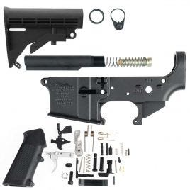AR15 COMPLETE LOWER KIT WITH STOCK ANDERSON
