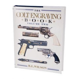 COLT ENGRAVING HARDBOUND BOOK VOL.2 358 PAGES
