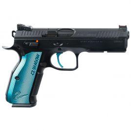 CZ SP-01 SHADOW 2 BLACK & BLUE 9MM SINGLE ACTION