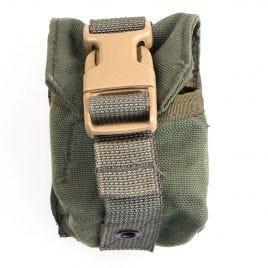 EAGLE IND FRAG GRENADE POUCH MOLLE OD GREEN