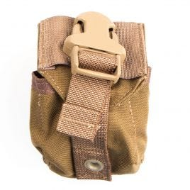 EAGLE IND FRAG GRENADE POUCH MOLLE BROWN