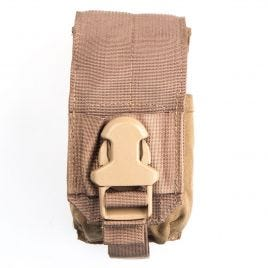 EAGLE IND SMOKE GRENADE POUCH MOLLE BROWN