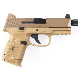 FN FN509C TACTICAL 9MM FDE THREADED