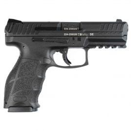 HK VP9B 9MM BLACK WITH PUSH BUTTON MAG RELEASE