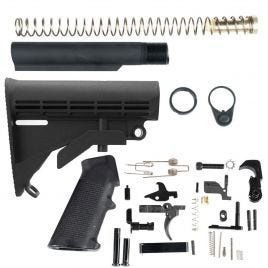 AR 308 COMPLETE STOCK ASSEMBLY & LOWER PARTS KIT