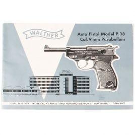 WALTHER P38 P1 MANUAL