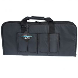 AR PISTOL CASE 28IN BLACK VISM