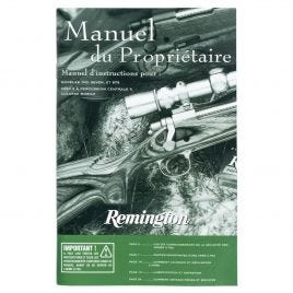 REMINGTON 700 SEVEN 673 INT MANUAL NO ENGLISH