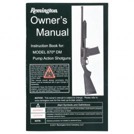 REMINGTON 870 DM OWNERS MANUAL