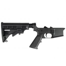 REMINGTON AR15 COMPLETE LOWER WITH 6 POS STOCK