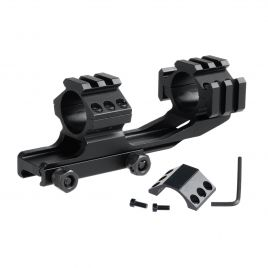 AR15 CANTILEVER SCOPE MOUNT 30MM TOP & SIDE RAIL