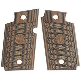 SIG SAUER P938 SELECT BROWN G10 FACTORY GRIPS