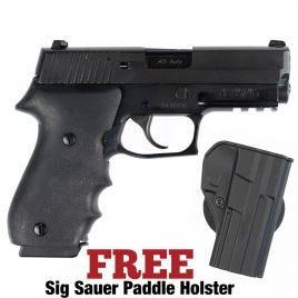 SIG SAUER P220R CARRY DAK 45ACP G-VG COND HOGUE