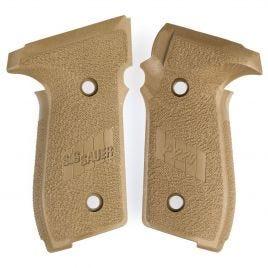 SIG SAUER P229 FDE FACTORY GRIP WITH LOGO