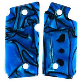 SIG SAUER P238 BLUE MARBLELITE POLY GRIP PANELS
