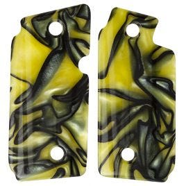 SIG SAUER P238 YELLOW MARBLELITE POLY GRIP PANELS