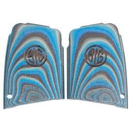 SIG SAUER P290 G10 BLACK BLUE ENHANCED GRIPS