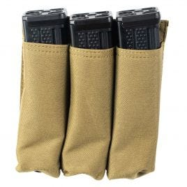 SIG SAUER MPX TRIPLE MAG POUCH WITH 3 10RD MAGS