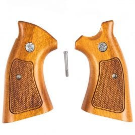 SMITH & WESSON K L SQUARE FRAME GRIPS TINY BLEMS