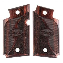 SIG SAUER P938 COCOBOLO CHECKERED STIPPLED GRIPS