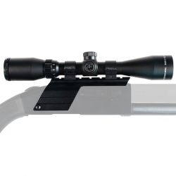 MOSSBERG 500 12GA MOUNT WITH 3X9 TC SCOPE & RINGS