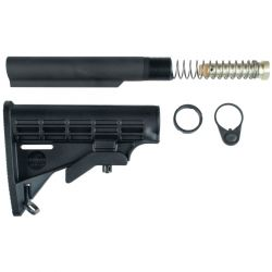 AR15 COLLAPSIBLE STOCK ASSEMBLY 6 POS BUSHMASTER