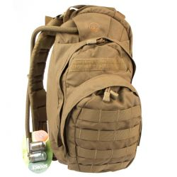 EAGLE IND RECON HYDRATION BROWN 100 OZ 2 POCKETS