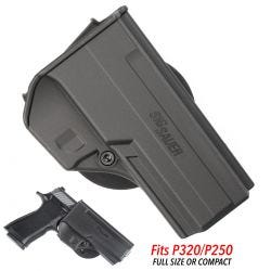 SIG SAUER P320 P250 FULL/COMPACT PADDLE HOLSTER